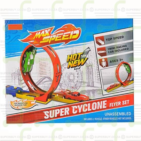 Launch & Go Racer Set Super Cylcone Flyer