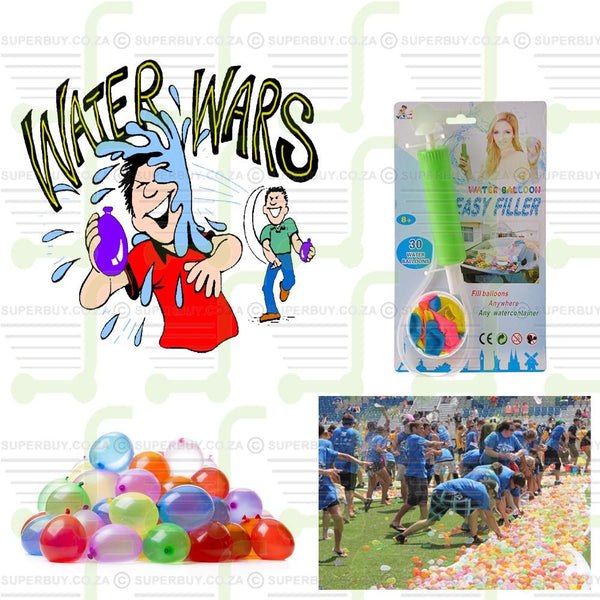 Water Balloon Filler with Water Balloons