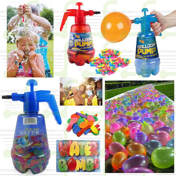 Balloon Pumper with 500 Water Balloons