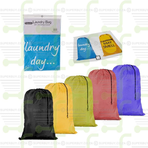 Laundry Bag with Drawstring Closure 61cm x 91cm