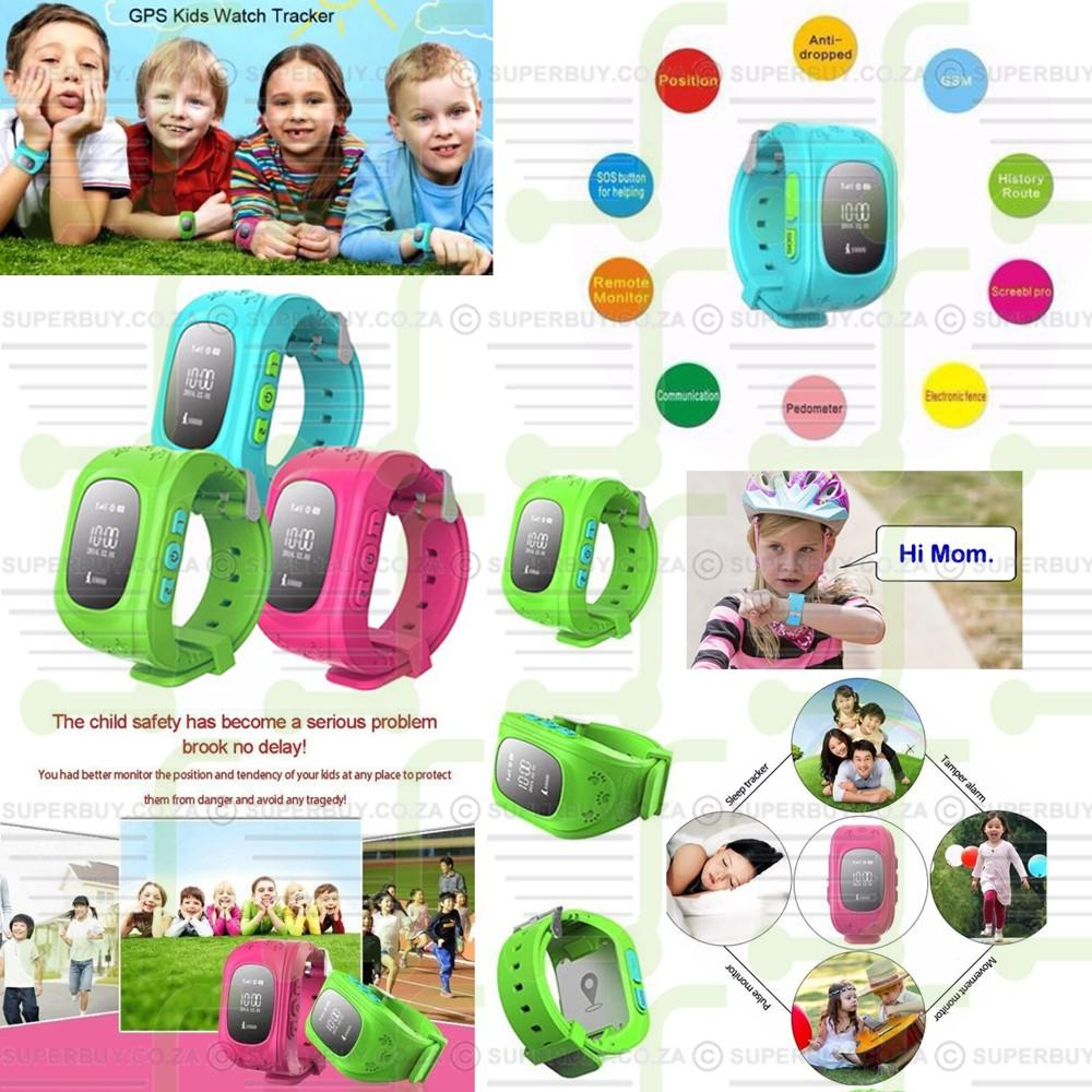 GPS Tracker Watch For Kids