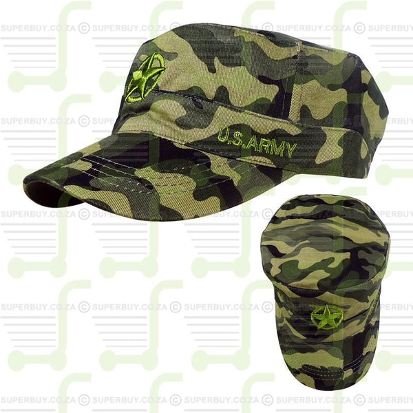 Superior Quality Cap - US Army Star Camo