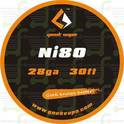 Ni80 28ga RBA and RDA Wire
