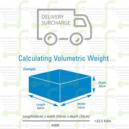 Delivery Address or Volumetric Weight Surcharge Zone 1