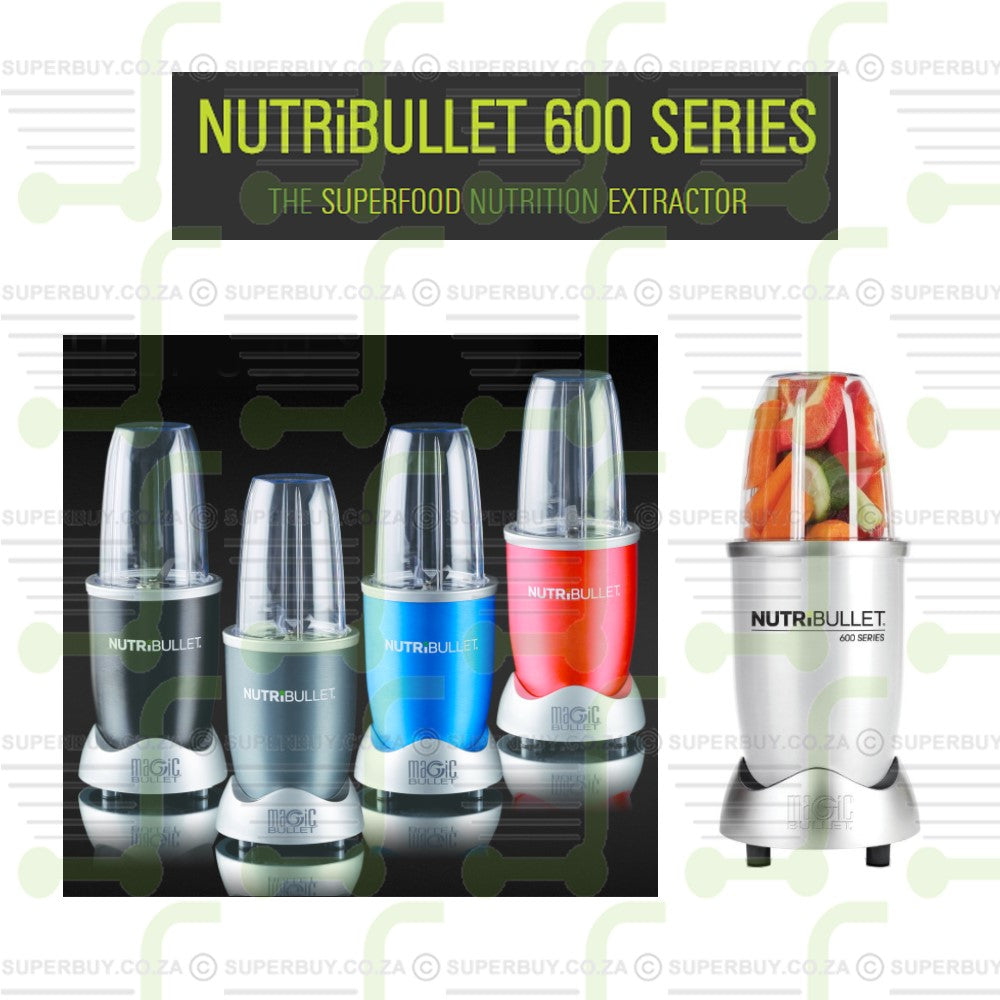 NUTRiBULLET 8 Piece Nutrition Extractor 600 Watt