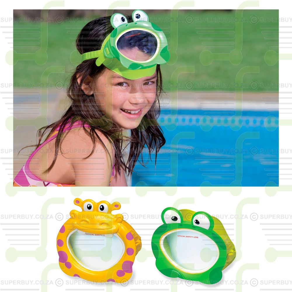 Intex Swim Fun Mask Goggles (Hippo or Frog)