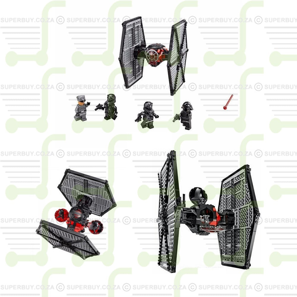 541pcs Star Wars TIE Fighter Special Forces of The First Order Building Blocks