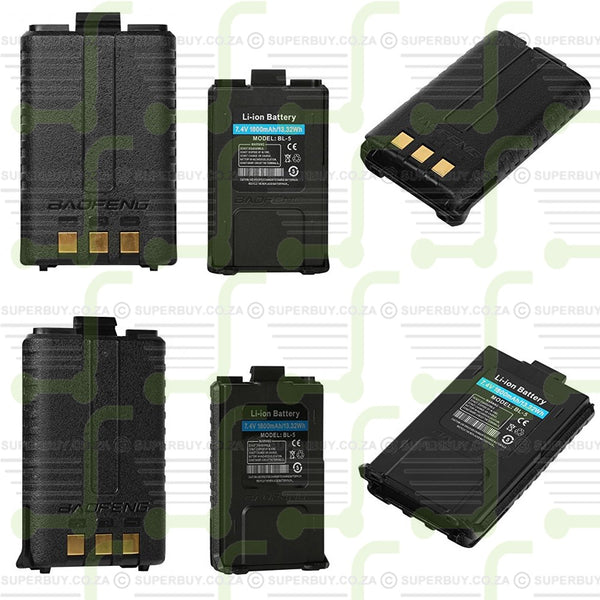 BaoFeng UV-5R Two-way Radio Battery