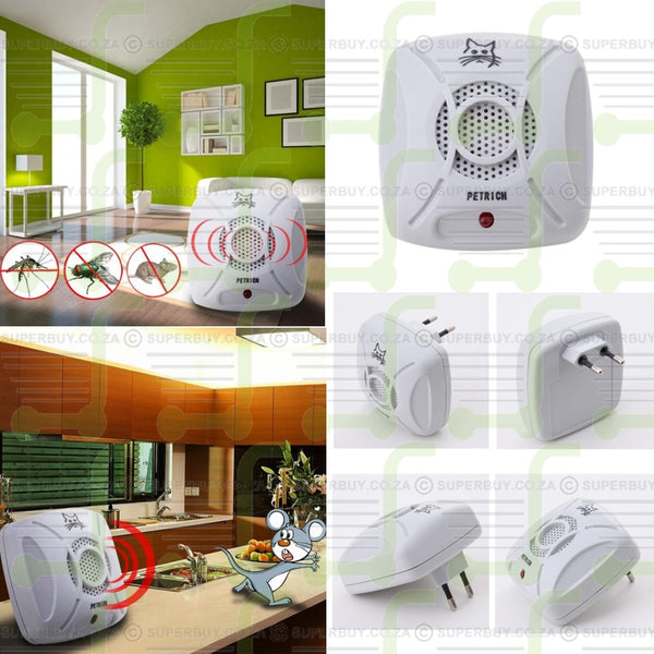 Ultrasonic Electronic Indoor Anti Mosquito Rat Pest Control Repeller