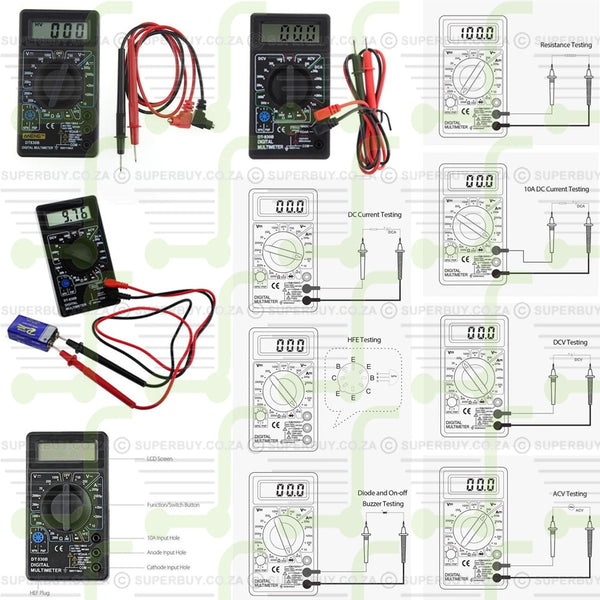 Digital Multimeter Test Equipment