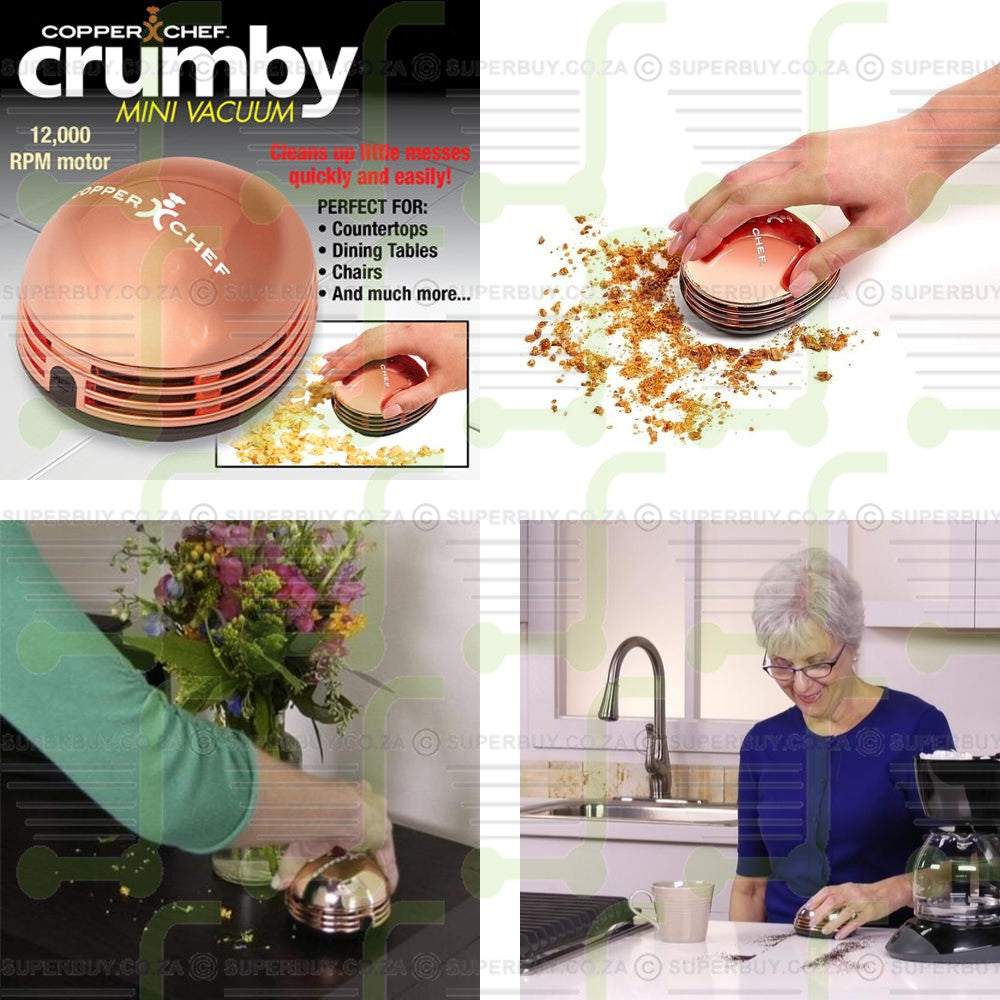 Copper Chef Crumby Mini Handheld Vacuum