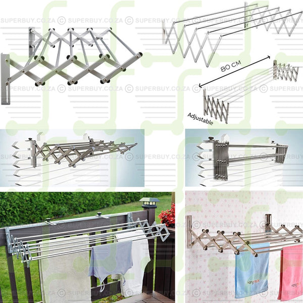 Retractable Clothes Drying Rack 3cm x 60cm