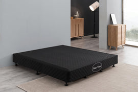 Mattress Base Queen Size Black
