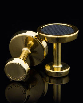 Lockstone One Range Gold Plated Cufflinks