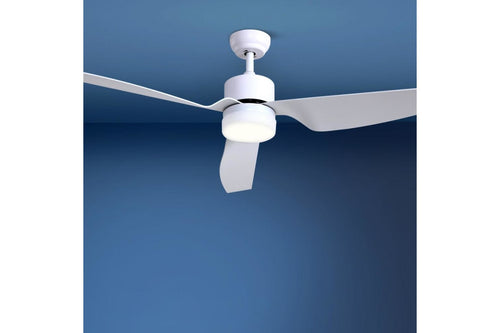 52 DC Motor Ceiling Fan with LED Light with Remote 8H Timer Reverse Mode 5 Speeds - Terrific Buys