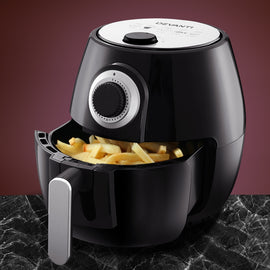 Air Fryer 4L Fryers Oil Free Oven Airfryer Kitchen Healthy Cooker Black