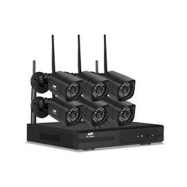 UL-TECH 1080P 8CH NVR Wireless 6 Security Cameras Set