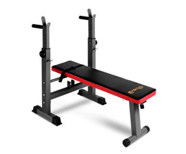 Everfit Multi-Station Weight Bench Press Red