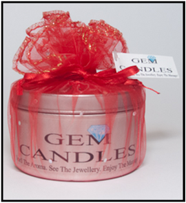 Gem Candles - Strawberry