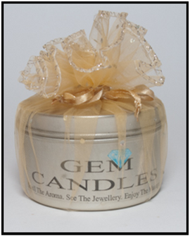 Gem Candles - Frangipani