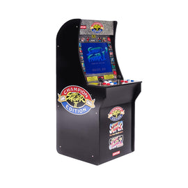 Street Fighter Retro Arcade Machine Arcade1Up Game Cabinet 3 games in 1 17' LCD