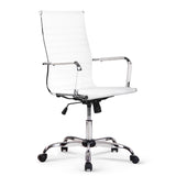 Artiss Eamon Gaming Office Chair Computer Desk Chairs Home Work Study White High Back