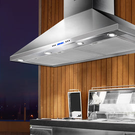 Devanti 1200mm Commercial BBQ Rangehood - Silver Terrific Buys