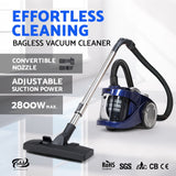 Devanti 2200W Bagless Vacuum - Blue