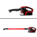 Devanti Cordless Stick Vacuum Cleaner - Black and Red