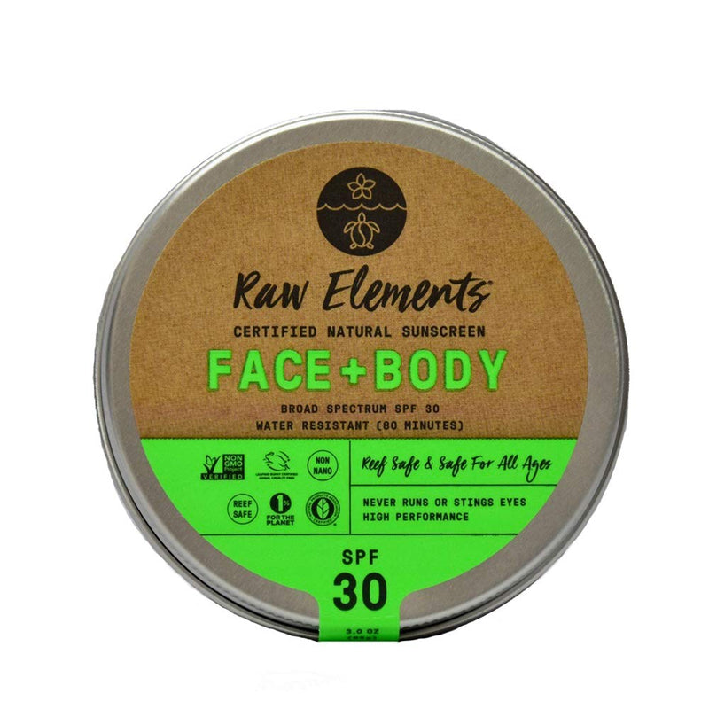 Raw Element Face + Body Tin