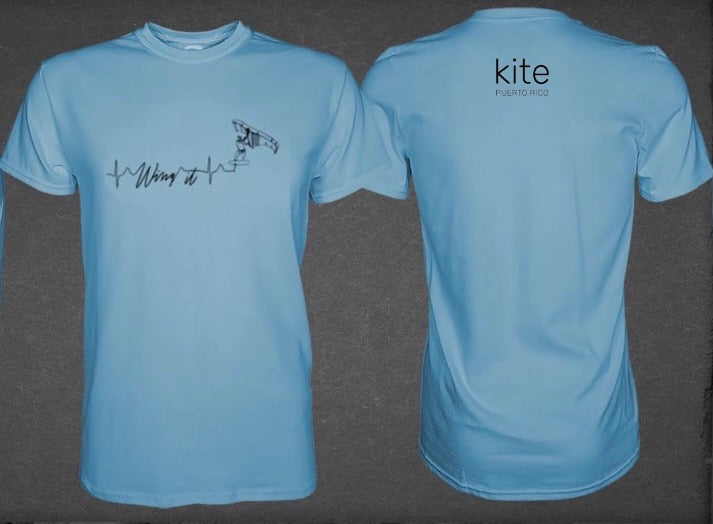 Kite Puerto Rico Wing it water shirts