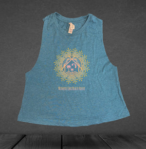Women's Mandala Cropped top