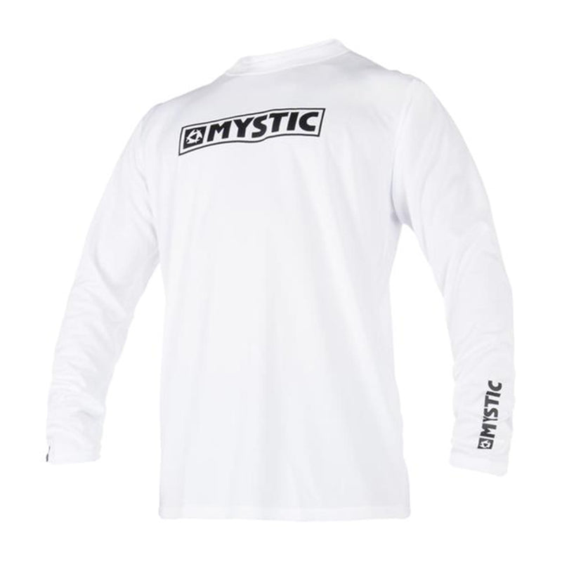 mystic long sleeve white