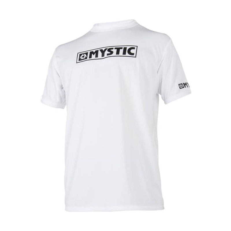 mystic short sleeve white