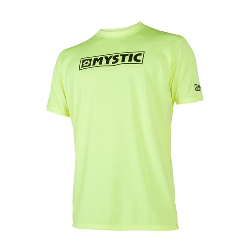 mystic short sleeve yellow