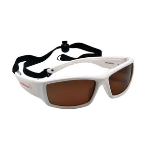 Polarized Floating Sunglasses - White