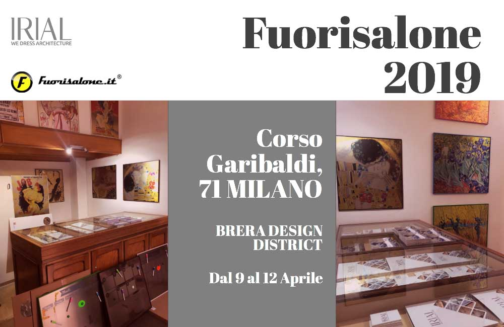 Irial Home at Fuorisalone 2019