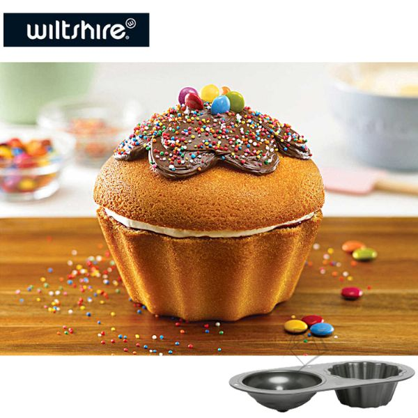 Wiltshire Giant Tin Cupcake Pan 2 cup - Modern Appliances