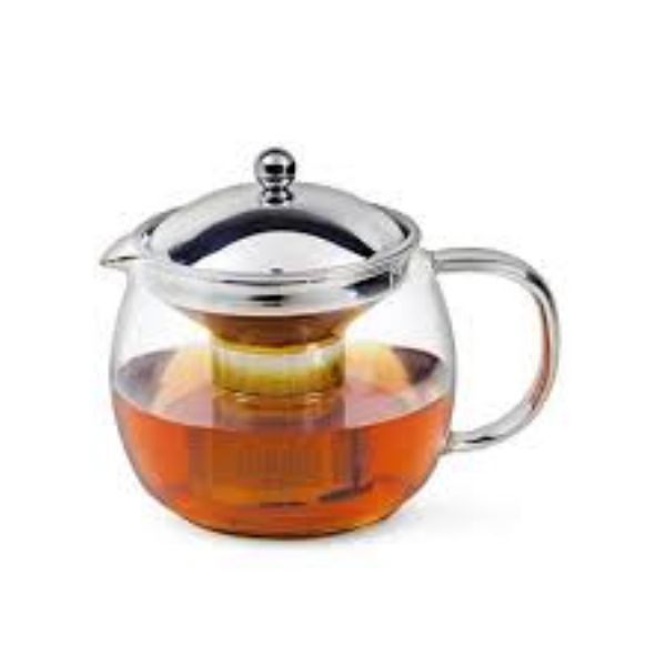 Avanti Ceylon Glass Teapot with Infuser 1.25L - Modern Appliances