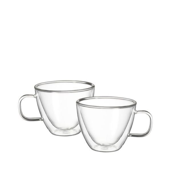 Avanti Sienna Twin Wall Glass 250ml Set of 2 - Modern Appliances