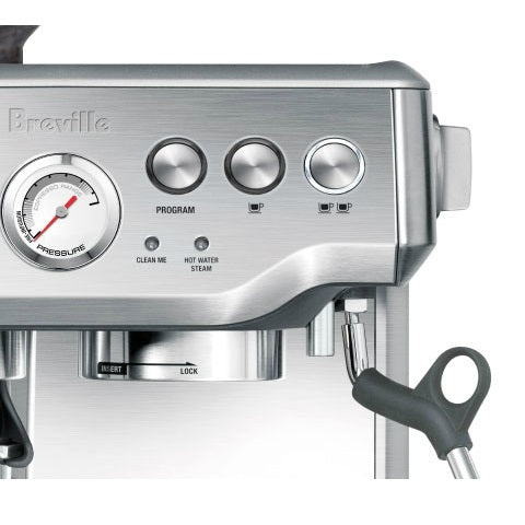 Breville BES870 Barista Express Coffee Machine - Modern Appliances