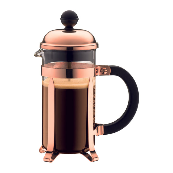 Bodum Chambord French Coffee Press 3-Cup Copper - Modern Appliances