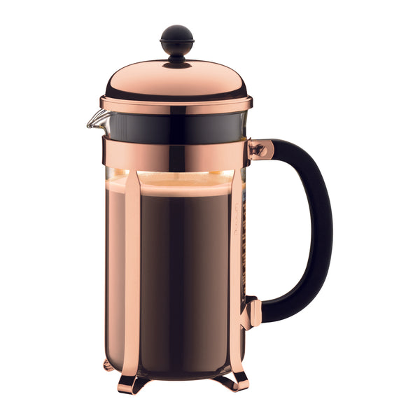Bodum Chambord French Coffee Press 8-Cup Copper - Modern Appliances