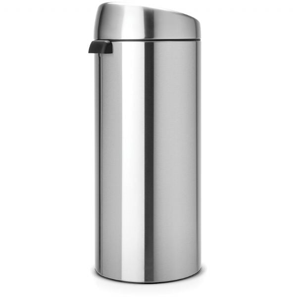 Brabantia Touch Bin 30L - Matte Steel - Modern Appliances