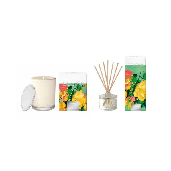 ECOYA Madison & Diffuser Set - (Freesia & Grapefruit Summer Edition) - Modern Appliances