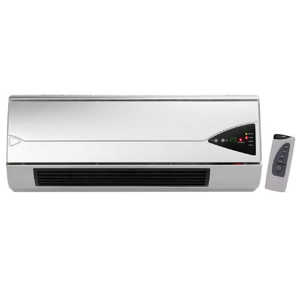 HELLER 2000W CERAMIC WALL HEATER W LED DISPLAY - Modern Appliances