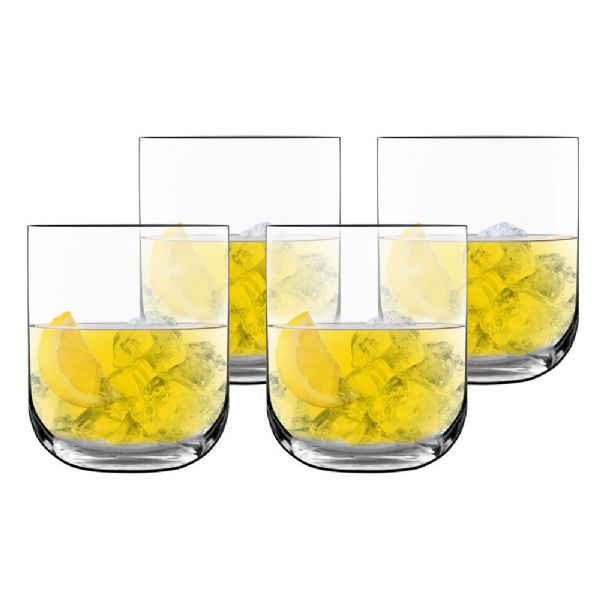 Luigi Bormioli Sublime 4pc Tumblers - Modern Appliances