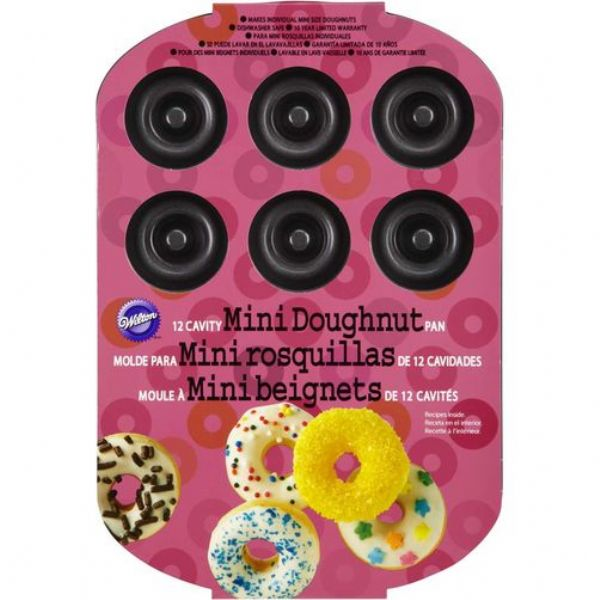 Wilton 12 Cavity Mini Donut Pan - Modern Appliances