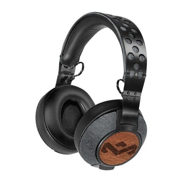 Marley Liberate XL Saddle Over-Ear Headphones (Black) - Modern Appliances