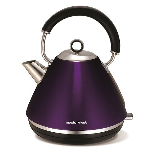 Morphy Richards Traditional Pyramid Kettle - Plum - Modern Appliances